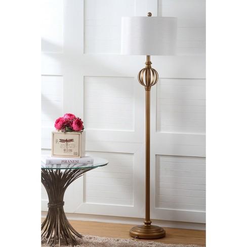 garden sphere mid century modern floor lamp safavieh target - Mid Century Modern Floor Lamp