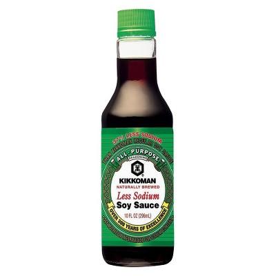 Kikkoman Less Sodium Soy Sauce 10 fl oz