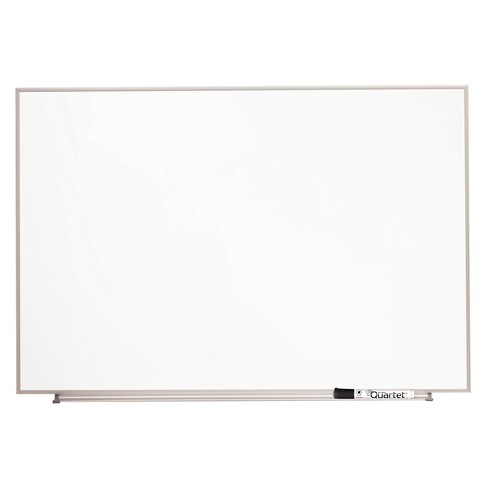 Quartet® Magnetic Dry Erase Board, Painted Steel, 34 x 23, White ...