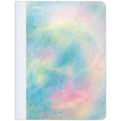 Composition Notebook Wide Ruled Oil Slick Pearl - Mead