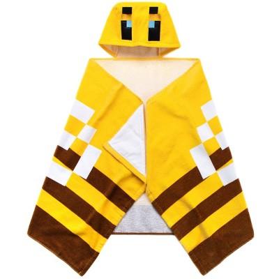 Minecraft Bee Hooded Towel