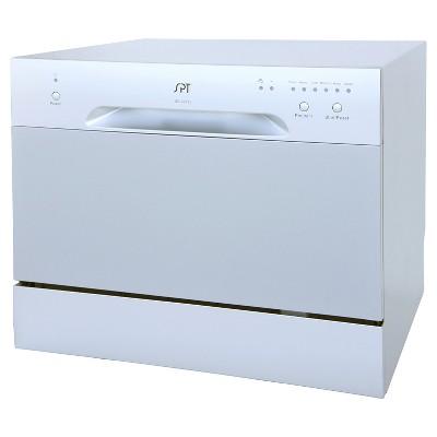 Sunpentown Countertop Dishwasher - Silver