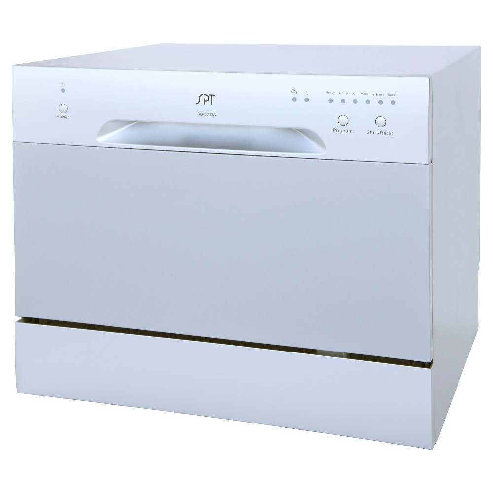 Sunpentown Countertop Dishwasher – Silver 50390769