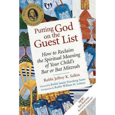 Putting God on the Guest List, Third Edition - 3 Edition by  Jeffrey K Salkin (Paperback) - image 1 of 1