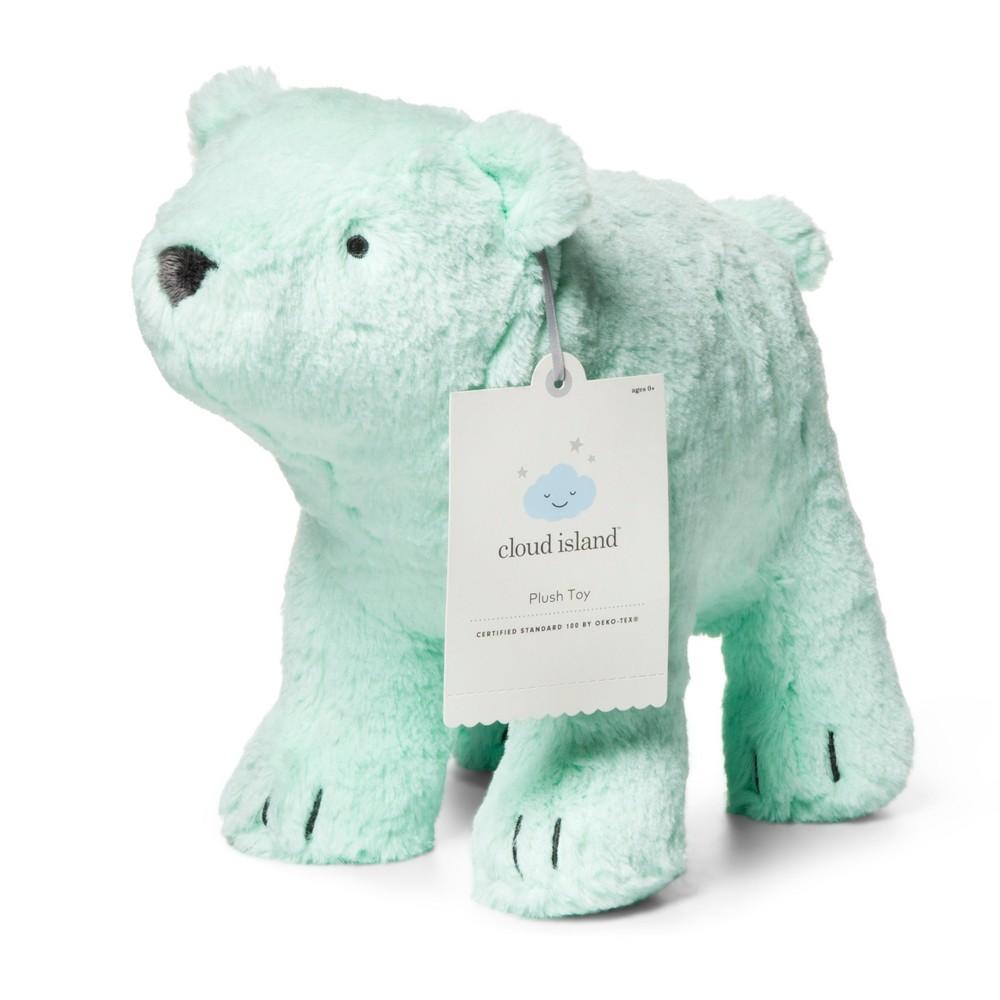 Plush Polar Bear - Cloud Island Turquoise