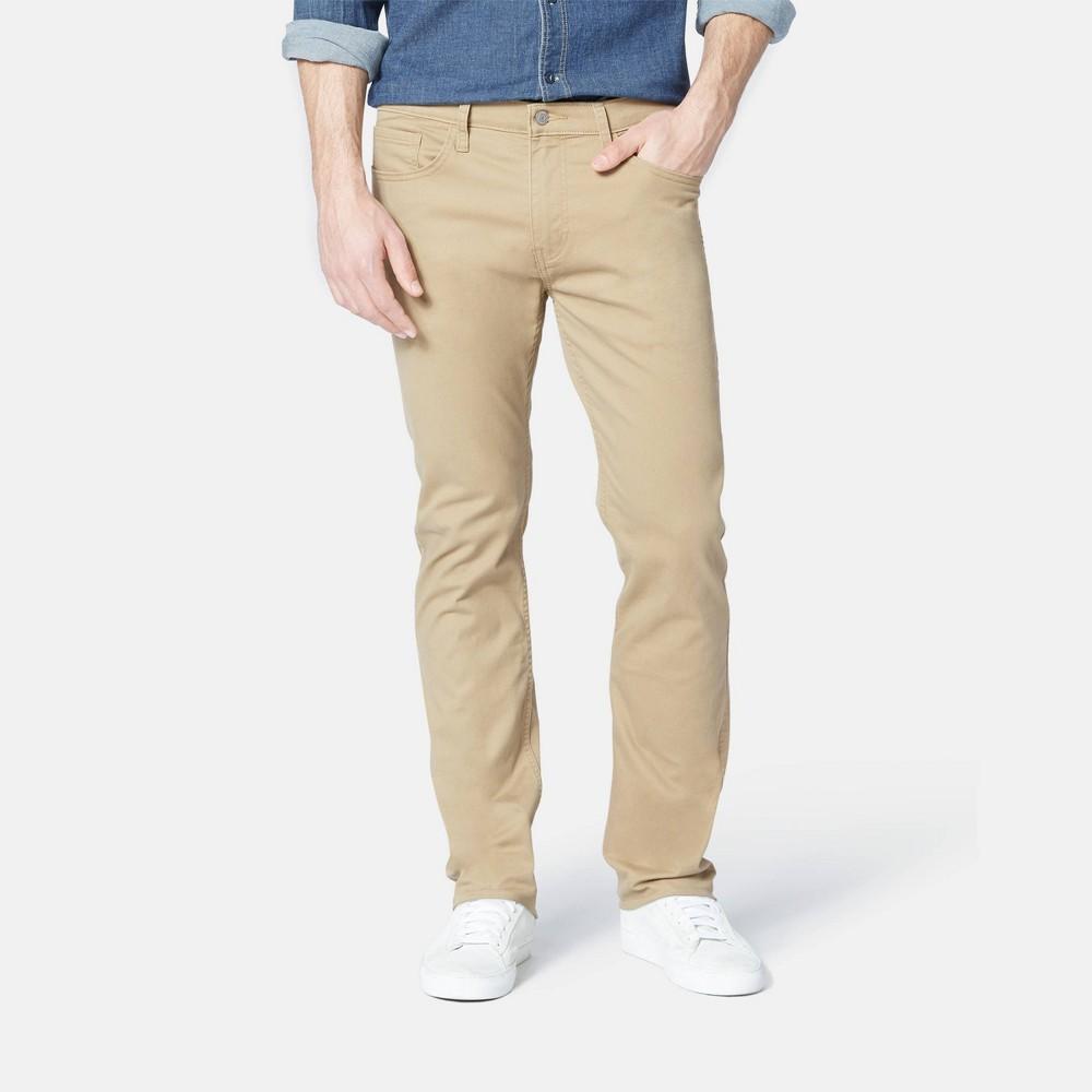 Dockers Men 39 S Slim Fit All Seasons Tech 5 Pocket Pants British Khaki 30x32