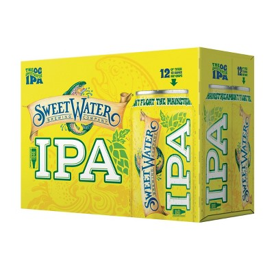 SweetWater IPA Beer - 12pk/12 fl oz Cans