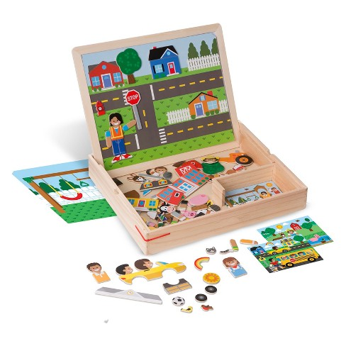 Melissa & Doug Magnetic Matching Picture Game - image 1 of 3