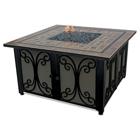 "41"" Gas Outdoor Firepit - Slate - Endless Summer - image 1 of 3"