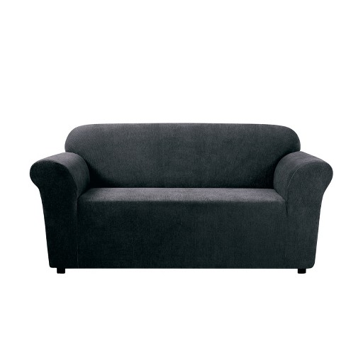 Stretch Chenille Loveseat Slipcover - Sure Fit   Target a11897f978