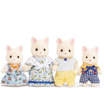Calico Critters Silk Cat Family