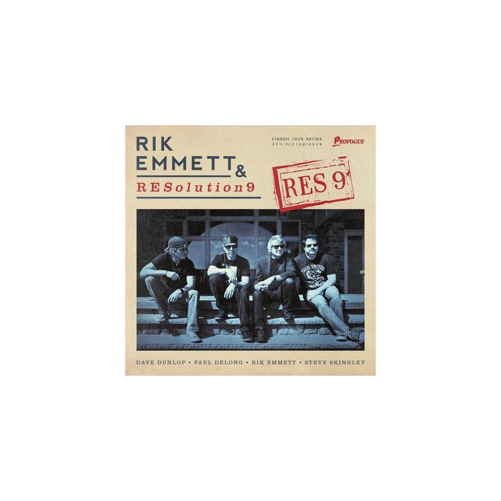 Rik Emmett - Res9 (Vinyl)