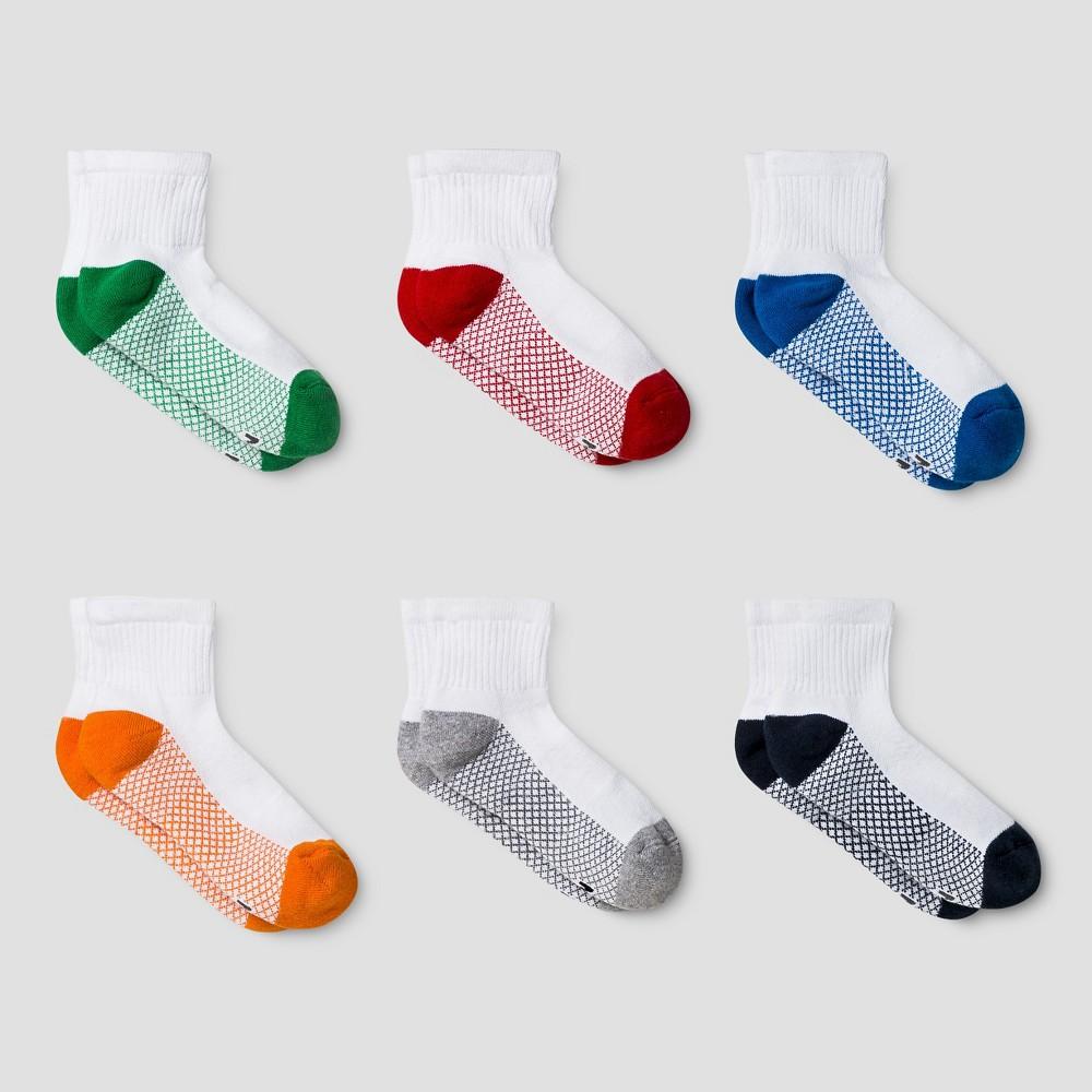 Boys' Athletic Socks - Cat & Jack L, Multicolored