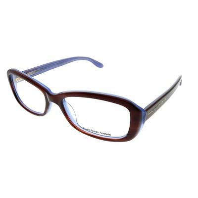 Marc by Marc Jacobs  ISK Unisex Rectangle Eyeglasses Havana on Azure 51mm