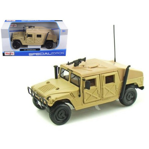 Humvee Military Sand 1/27 Diecast Model Car by Maisto - image 1 of 1