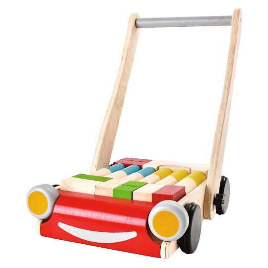 PlanToys Baby Walker, push and pull toys image number null