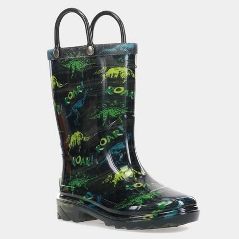 Toddler Boys' Western Rain Jerrick Light-Up Rain Boots - image 1 of 3