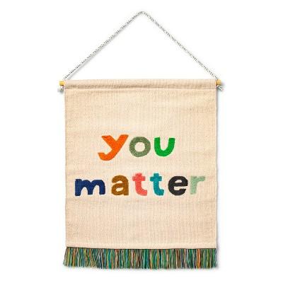 You Matter Hanging Canvas - Christian Robinson x Target