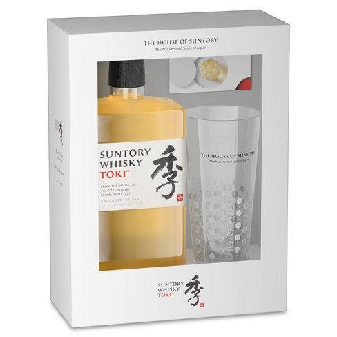 Suntory Toki Japanese Whisky Gift Set - 750ml Bottle with Highball Glass - image 1 of 2