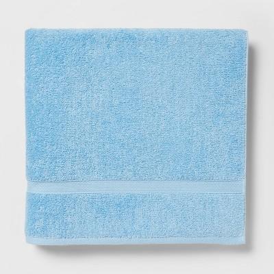 Perfectly Soft Solid Bath Sheet Light Blue - Opalhouse™