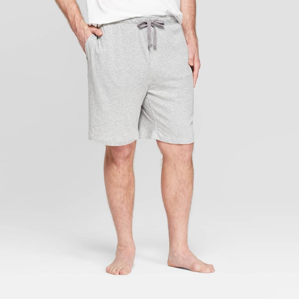 Men S Big Tall 9 Knit Pajama Shorts Goodfellow Co 8482 Heather Gray 2xb