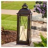 "Salerno 27"" Triple LED Candle Outdoor Lantern - Smart Living - image 3 of 4"