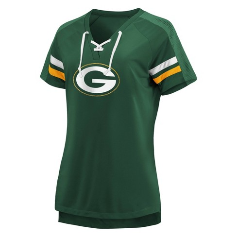 NFL Green Bay Packers Women's Ultimate Champion Aaron Rodgers Fashion Top - image 1 of 3