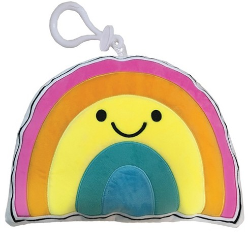 Two Scoops Rainbow With a Smile Fleece Squishem - image 1 of 1