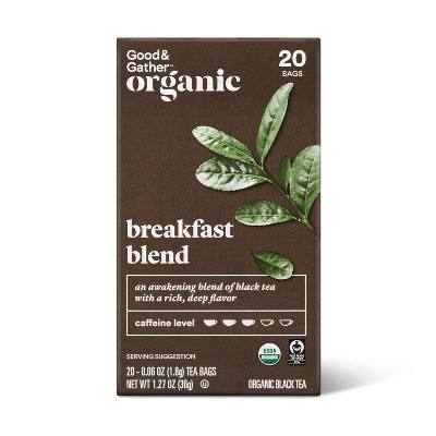 Organic Breakfast Blend Tea - 20ct - Good & Gather™
