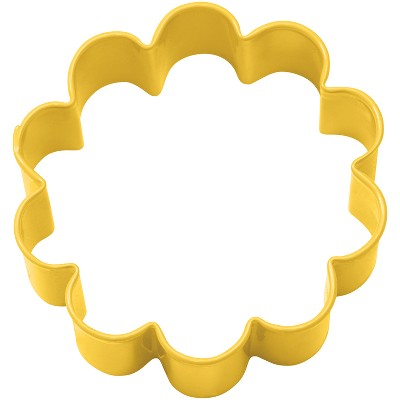 Yellow Metal Flower Cutter - Wilton