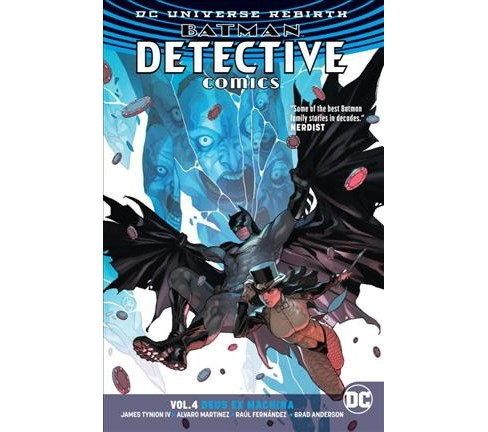 Batman Detective Comics 4 : Deus Ex Mancina -  (Batman) by IV James Tynion (Paperback) - image 1 of 1