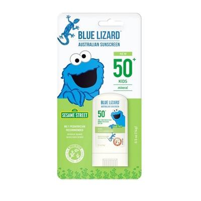 Blue Lizard Kids' Sunscreen Stick - Cookie Monster - SPF 50 - 0.5oz