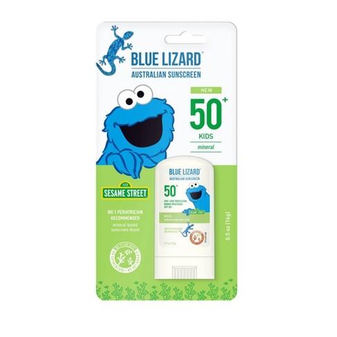 Blue Lizard Kids' Sunscreen Stick - Cookie Monster - SPF 50 - 0.5oz - image 1 of 4
