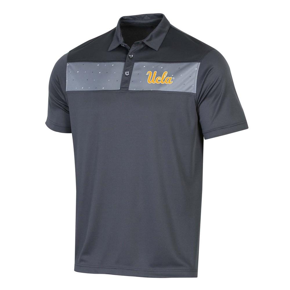 NCAA Men's Short Sleeve Polo Shirt Ucla Bruins - M, Multicolored