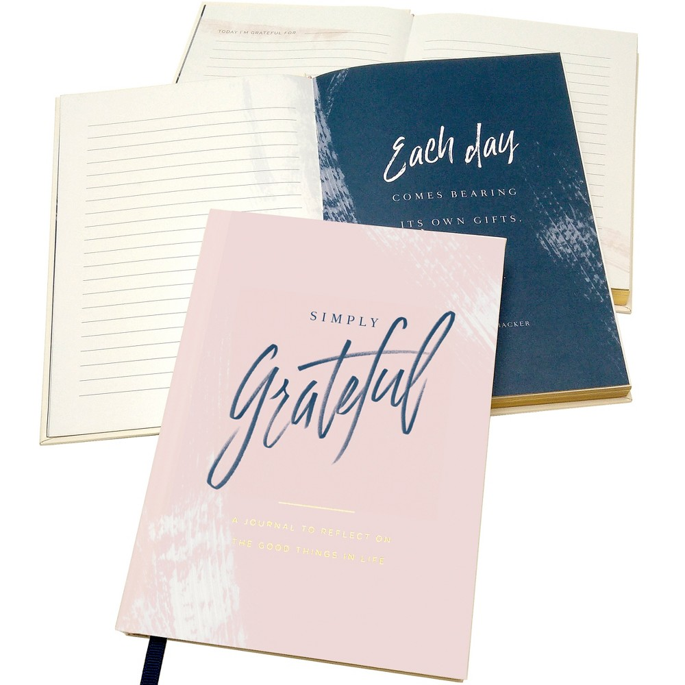 Green Inspired Simply Grateful Journal, Multi-Colored