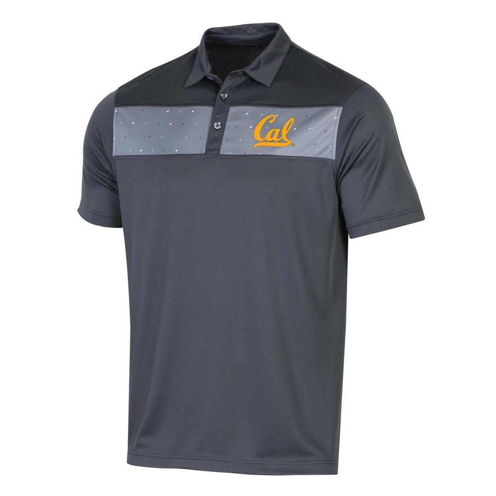 NCAA Men's Short Sleeve Polo Shirt Cal Golden Bears - L, Size: Small, Multicolored