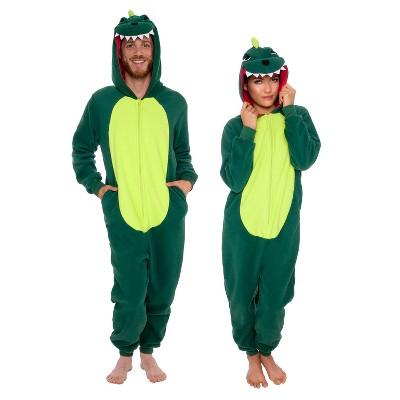 FUNZIEZ! - Dinosaur Slim Fit Adult Unisex Novelty Union Suit