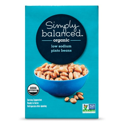 Organic Pinto Beans Low Sodium - 15oz - Simply Balanced™ - image 1 of 1