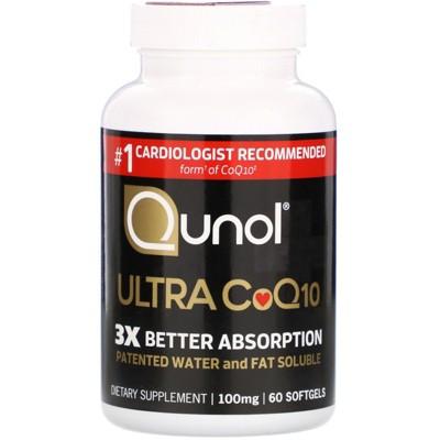 Qunol Ultra CoQ10, 100 mg, Softgels, Dietary Supplements
