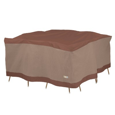 """68"""" Ultimate Square Table and Chair Set Cover - Duck Covers"""