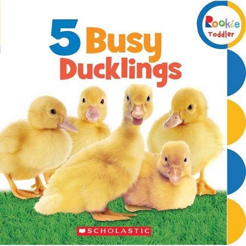 5 Busy Ducklings - (Rookie Toddler) by  Scholastic (Board_book) - image 1 of 1