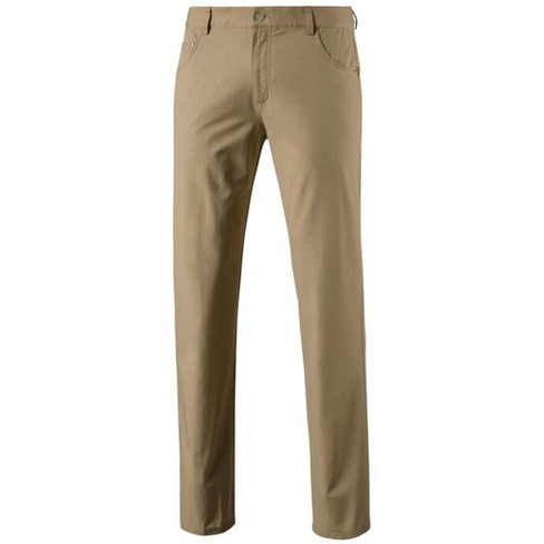 64cd4c3a7e55 Men s Puma Heather 6-Pocket Golf Pants White Pepper 33X32   Target