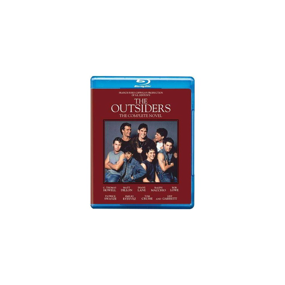 The Outsiders (Blu-ray), movies The Socs oppose the Greasers in 1960s Oklahoma. Directed by Francis Coppola. From the S.E. Hinton novel. Age Group: adult.