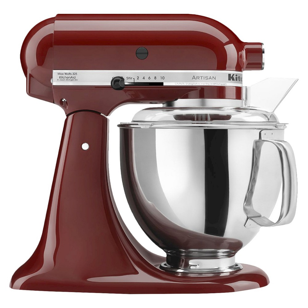 KitchenAid Artisan Series 5 Quart Tilt-Head Stand Mixer- Ksm150, Cinnamon Red 10278393