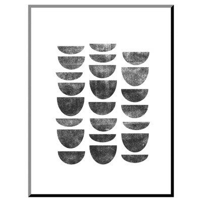 Scandinavian Geometry Mounted Print