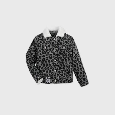 Girls' Disney Mickey Mouse Fashion Jacket - Gray - Disney Store