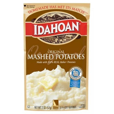 Idahoan Original Mashed Potatoes 2oz