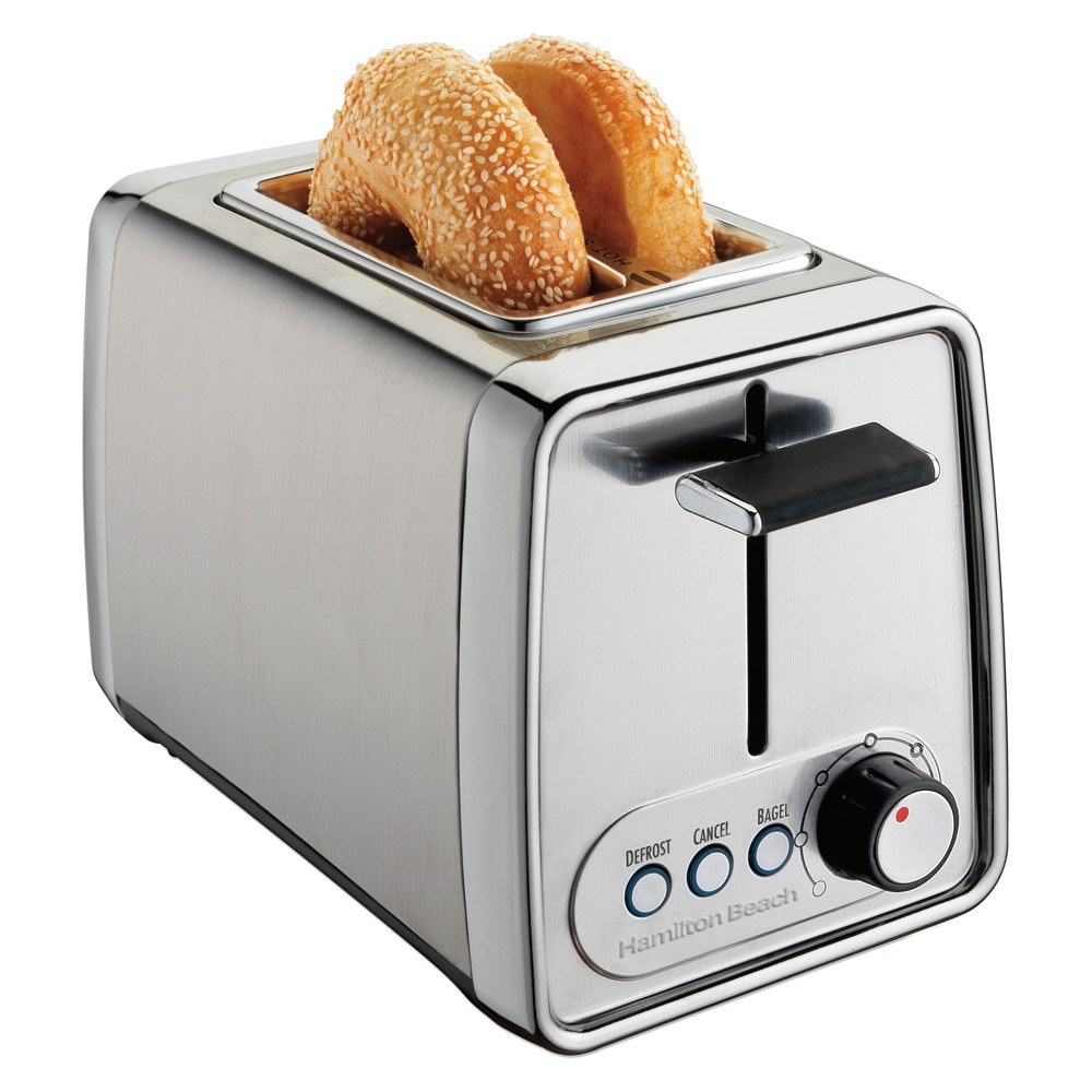 Hamilton Beach 2 Slice Modern Chrome (Grey) Toaster 53169168