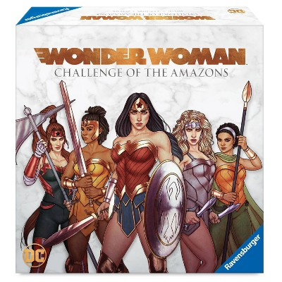 DC Comics Wonder Woman: Challenge of the Amazons Board Game