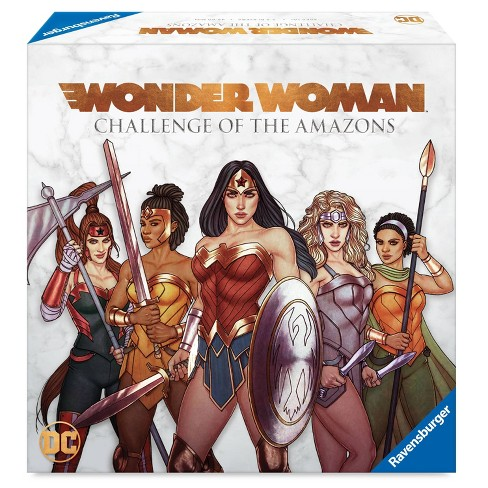 DC Comics Wonder Woman: Challenge of the Amazons Board Game - image 1 of 4